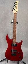 Godin Detour electric guitar in red finish