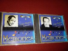 Duke Ellington  Memories Of Yester-years CD Lot - Volume 8 & 9