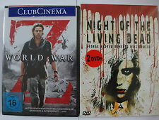 World War Z + Night of the Living Dead - Brad Pitt, A. Romero, Zombie Sammlung
