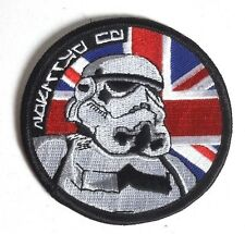 "Star Wars 3"" UK Flag w Stormtrooper Promo Patch- FREE S&H (EBPA-SW-UK)"