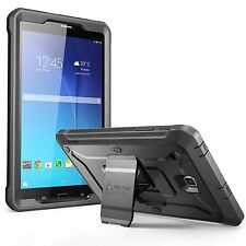 Galaxy Tab E 8.0 Case Cover Tablet Screen Protector Hard Bumper Kickstand Black