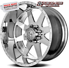 """AMERICAN FORCE INDEPENDENCE SS8 POLISHED 24""""x14 WHEELS RIMS 8 LUG (set of 4) NEW"""