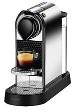 NEW Nespresso by Breville BEC650C Citiz Solo Capsule Coffee Machine: Chrome