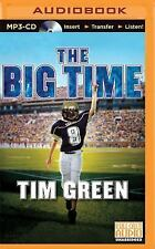 Football Genius: The Big Time 4 by Tim Green (2015, MP3 CD, Unabridged)