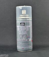 MR HOBBY ACRYLIC SPRAY 170ml SUPER CLEAR GLOSS B513