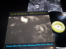 "Steel Wool ""Simple Men Who Like Working With Their Hands"" LP Empty Records MT255"