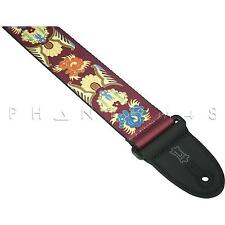Brand NEW Levy's MP Sublimation-Printed Standard Pattern 25 Guitar/Bass Strap