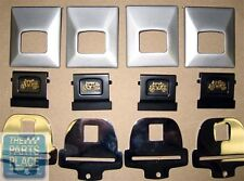 1966-67 GM Factory Seat Belts -  Deluxe Parts Set - New