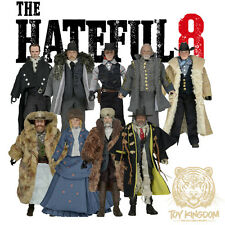 "NECA Hateful Eight 7"" Clothed Figures - COMPLETE SET OF 9 - Exclusive Tarantino"