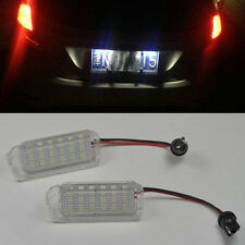 2x LED License Plate Light For FORD FOCUS 5D 08-2013 FIESTA MONDEO C-MAX S-MAX