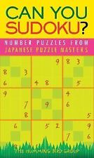 Can You Sudoku?: Number Puzzles from Japanese Puzzle Masters, Very Good Books
