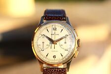 Rare 1951 Vintage BREITLING #1189 Chronograph Watch Serviced Venus/Valjoux +BOX