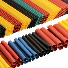 260x 8 Sizes Assortment 2:1 Heat Shrink Tubing Tube Sleeving Wrap Wire Kit Cable