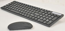 2.4 GHz Wireless Keyboard + Mouse + Nano receiver Combo Set