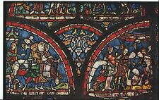 """Kent Postcard - Canterbury Cathedral - Early 13th C Glass """"Miracle Glass""""  ZZ882"""
