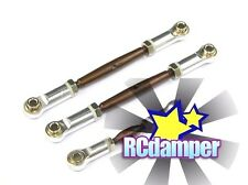 ALUMINUM TIE-ROD TURNBUCKLE STEERING S TRAXXAS 2WD SLASH RUSTLER VXL ASSEMBLY