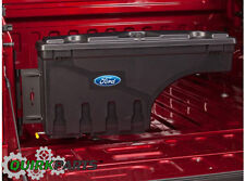 2015 Ford F150 Truck Bed Wheel Well Pivot Lockable Tool Storage Box Kit Right OE