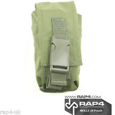 Paintball / Airsoft MOLLE 2x Pouch (Olive Drab) [BZ2]