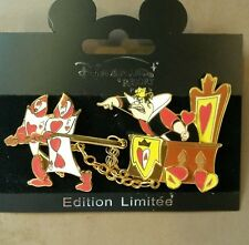 DISNEY PIN LE DLRP QUEEN OF HEARTS ALICE IN WONDERLAND TRAIN DISNEYLAND PARIS