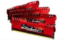 32 GB G.Skill DDR3 PC3-12800 RipjawsZ serie de Intel X 79 (10-10-10-30) 4x8GB