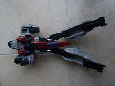 Huge JETFIRE STARSCREAM Transformers Action Figure 2004 Hasbro Takara 14 inch