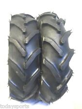 Two 6-12 Carlisle Tru Power Garden Tractor Lug Tires