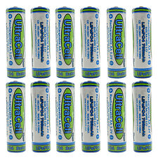 12PCS 14500 700mAh 3.2V LiFePo4 AA Rechargeable Battery Solar light Ultracell