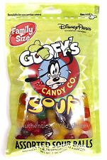 NEW Disney Parks Goofy's Candy Company Assorted Sour Balls Family Size 7 oz Bag