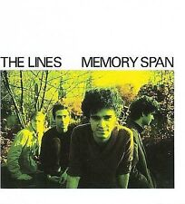 ~COVER ART MISSING~ The Lines CD Memory Span