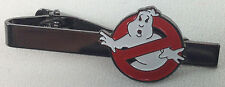 No Ghosts -Ghost Busters 1984 Science Fiction Movie Series Logo - Tie Clip Clasp