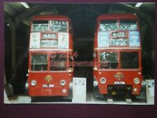 PHOTO  LONDON TROLLYBUSES CUL 260 & HYM 768
