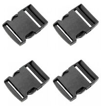 "4 x ITW Nexus 50mm / 2"" Side Release Buckle NSN 8315-99-788-8301 DIY Tactical"