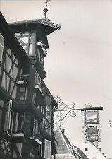 COLMAR c. 1935 - L'Hôtel des 2 Clefs  Enseigne Fer Forgé Haut-Rhin - DIV 6462