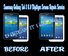 Samsung Galaxy Tab 3 8.0 Broken Cracked Glass Digitizer Screen Repair Service