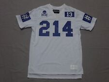 BEEN TRILL MENS WHITE 214 DALLAS GRAPHIC POLYESTER JERSEY SHIRT SIZE MEDIUM NEW