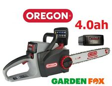 "-FREE OIL-  -16"" OREGON CS300 4.0ah 36V Cordless Chainsaw 573019 5400182213956"