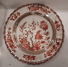 """COPELAND SPODE INDIA TREE OLD MARK DINNER PLATE 10 1/4"""" MADE IN ENGLAND"""