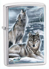 Zippo 28002 mazzi winter wolves full size Lighter