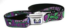 Batman The Joker Seatbelt Belt Licensed Buckle Down Fashion 2016 Strap Belt New