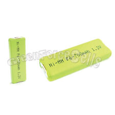 2 x 700mah F6 1.2V NIMH NH-8WM Gumstick Rechargeable Battery CD MD HI-MD