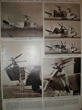 Article USAF Hiller X-18 tilt wing vertical take off aircraft unveiled 1959
