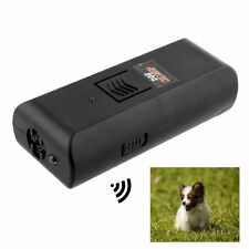 Hot Black Digital Ultrasonic Pet Dog Repeller Stop Barking Aggressive -UK Seller