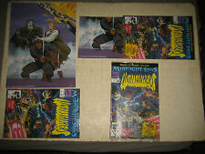 3 COLLECTABLE 1992 # 1 RISE OF THE MIDNIGHT SONS NIGHT STALKERS WITH POSTERS