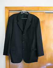 Comme Des Garcons Homme Blazer With Clear Vinyl Strip AD1996