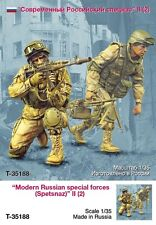 Tahk Tank 1:35 Modern Russian Special Forces II - 2 Resin Figures Kit #T35188