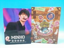 DVD SHINee The First Japan Arena Tour 2012 Limited Edition Minho Pencil Board