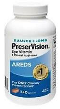 Bausch & Lomb Ocuvite PreserVision Supplement - 240 ct.  (3 PACK)
