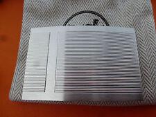 authentique boucle de ceinture hermès  en acier palladié  dustbag  neuve