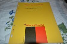 New Holland VH4-D Wisconsin Engine Dealer's Parts Book Manual DCPA5