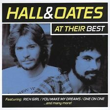 Hall & Oates at Their Best by Daryl Hall & John Oates (CD, 2005)